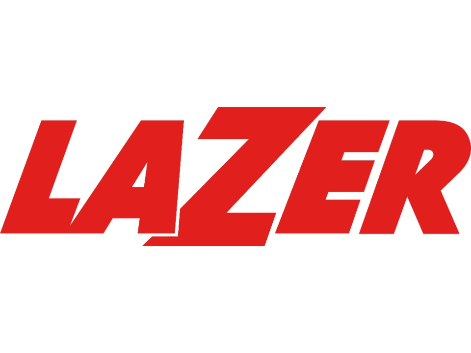 LAZER Logo red